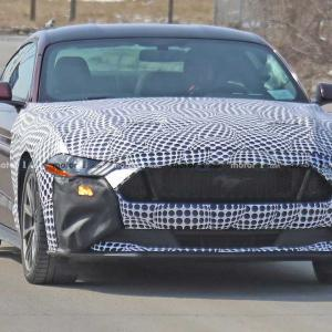 Ford Mustang Hybrid spied! Raising questions of a Camaro Hybrid.