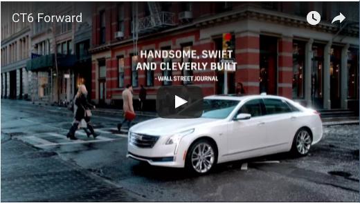 Cadillac CT6 clip