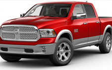1500 Laramie Crew Cab - Two Tone Flame Red