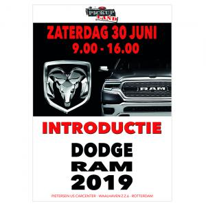 DODGE RAM 1500 2019 introductie op 30 juni a.s.