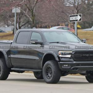Dodge Ram Rebel TRX  - Supercharged Hellcat V-8 likely